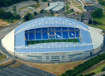 Brighton's Stadium Turns to Coronavirus Testing Centre