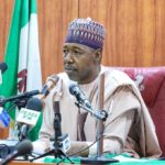 Gov. Zulum Attends Burial Ceremony of 43 Rice Farmers Beheaded by Boko Haram