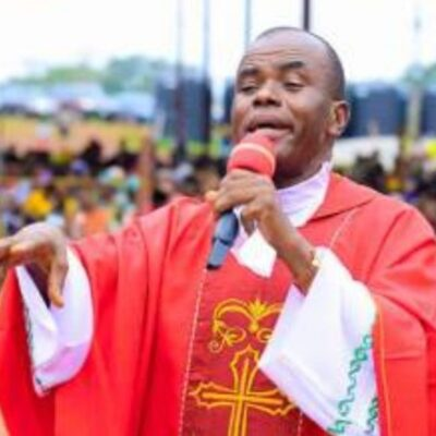 Protests in Enugu over Alleged Disappearance of Rev. Fr. Mbaka