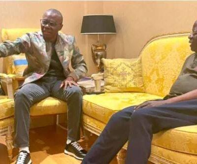 Gov. Babajide Sanwo-Olu Gives Account of Visit to London to See Tinubu